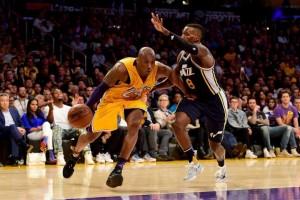 Kobe marca 60 pontos no seu jogo de despedida